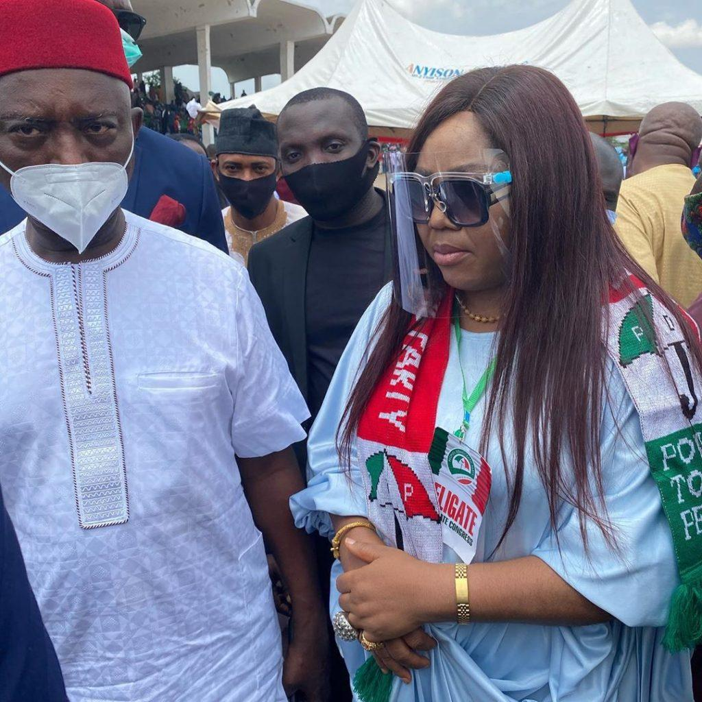 Regina Daniels' Mother, Rita gets PDP Appointment
