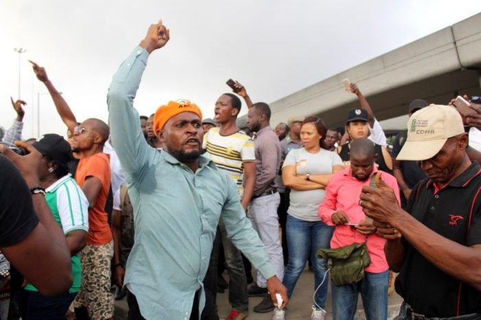#Revolutionnow Group Holds Worldwide Protest October 1