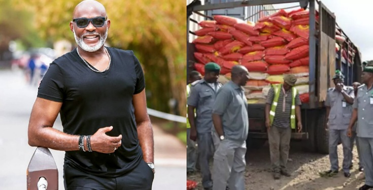 COVID-19: Richard Mofe Damijo Persuades Nigeria Customs to give out Seized Food to the Masses