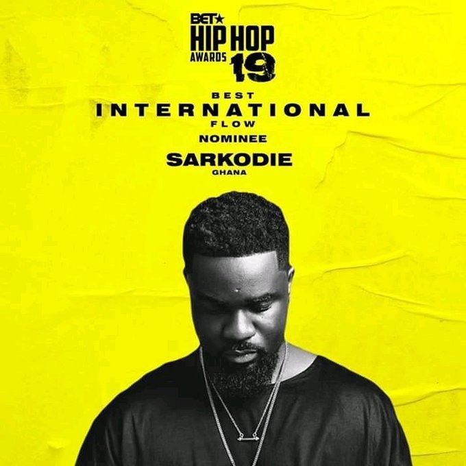 Sarkodie - 2019 BET Hiphop Cypher (Freestyle)