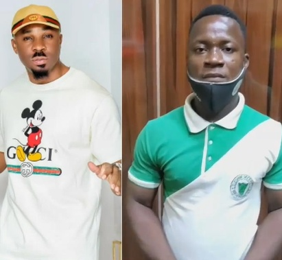 Security outfit threatens to sue socialite Pretty Mike for using one of its officers to carry out a 'staged' Valentine's gift presentation; See court papers