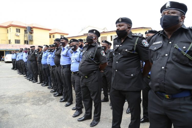 See Faces Of Disbanded SARS Officials In Lagos State (See Photos)