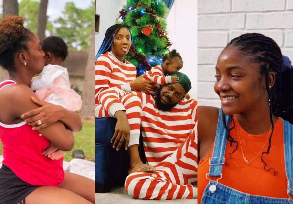 Simi Shares Adorable Video Of Her Daughter, Husband