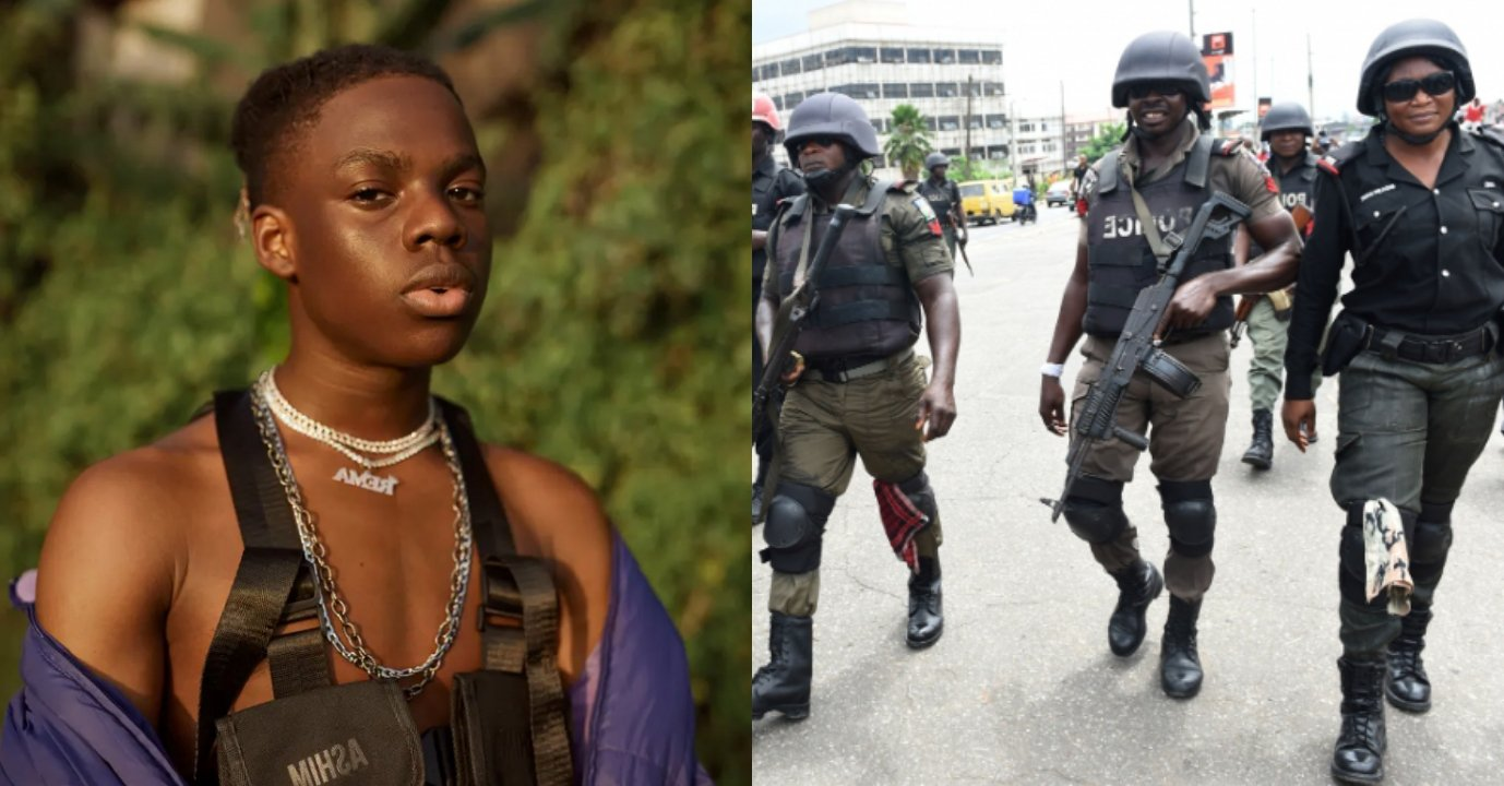 Singer, Rema reveals How to make a Nigerian Police Officer Angry