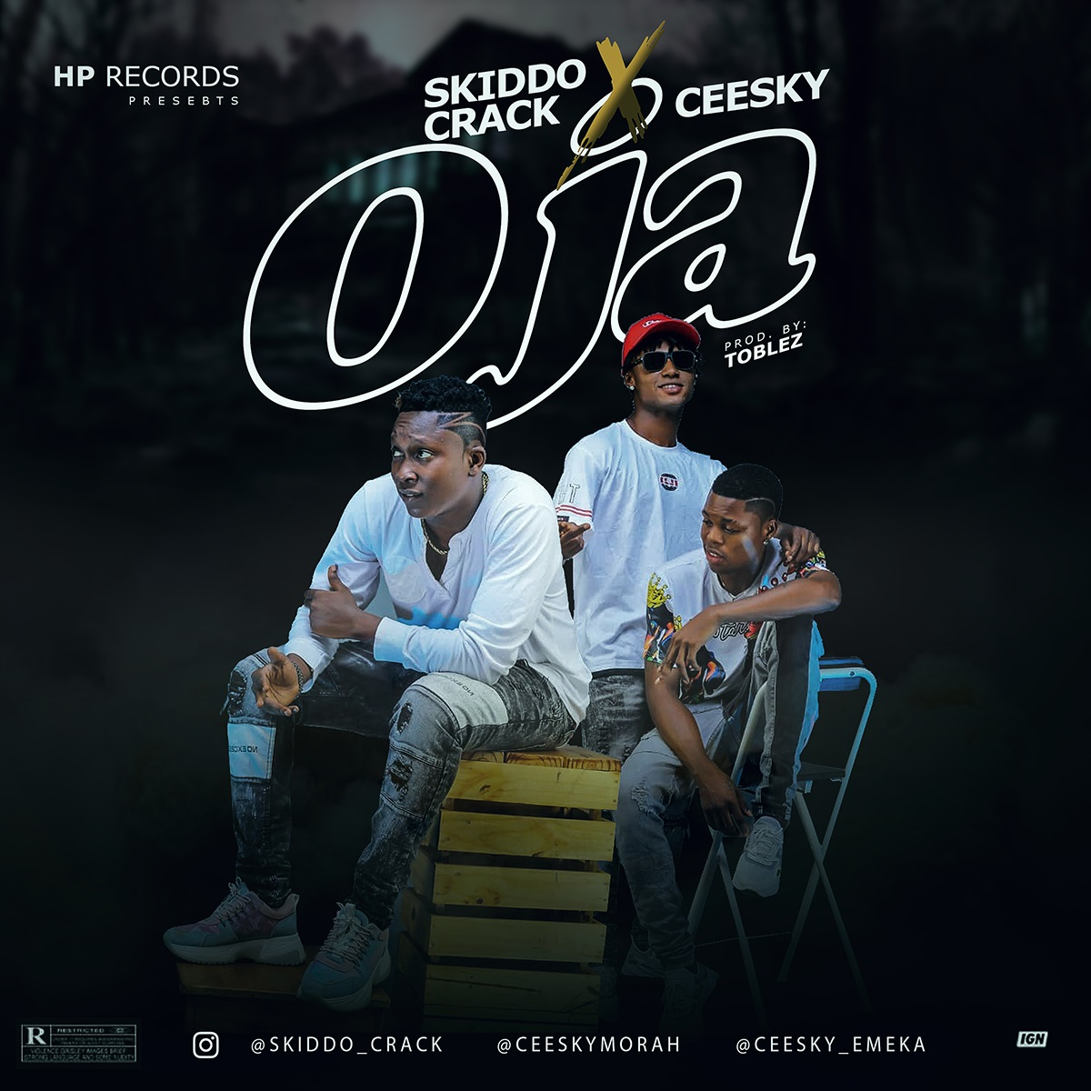 Skiddo Crack Ft. Ceesky - Oja (Prod. By Toblez)
