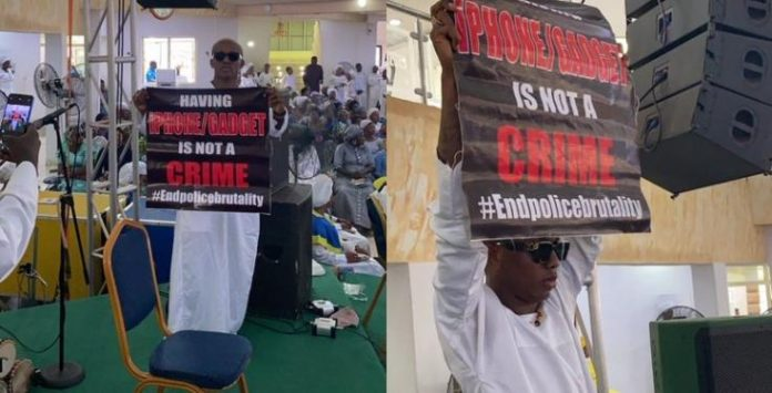 Small Doctor takes #EndSARS protest to his church