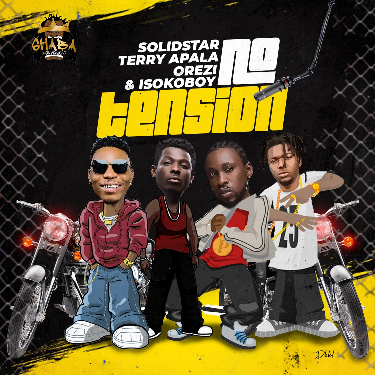 Solidstar Ft. Terry Apala, Orezi & Isoko Boy - No Tension