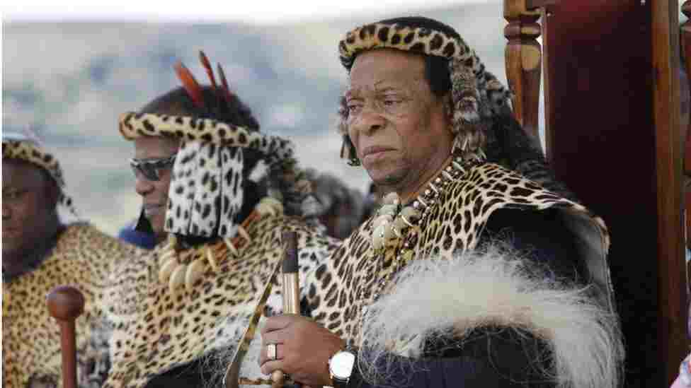 South Africa's Zulu King, Zwelithini is Dead
