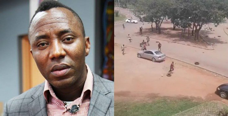 Sowore Reveals Who Organized 'Pro SARS' Thugs To Attack #EndSars Protesters In Abuja