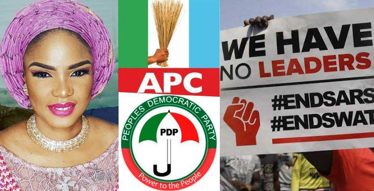 """Stop Recycling"" - Actress Iyabo Ojo Vows Never To Support Both PDP and APC"