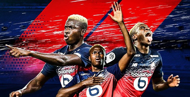 Super Eagles Player Victor Osimhen Wins Best African Player In French Ligue 1