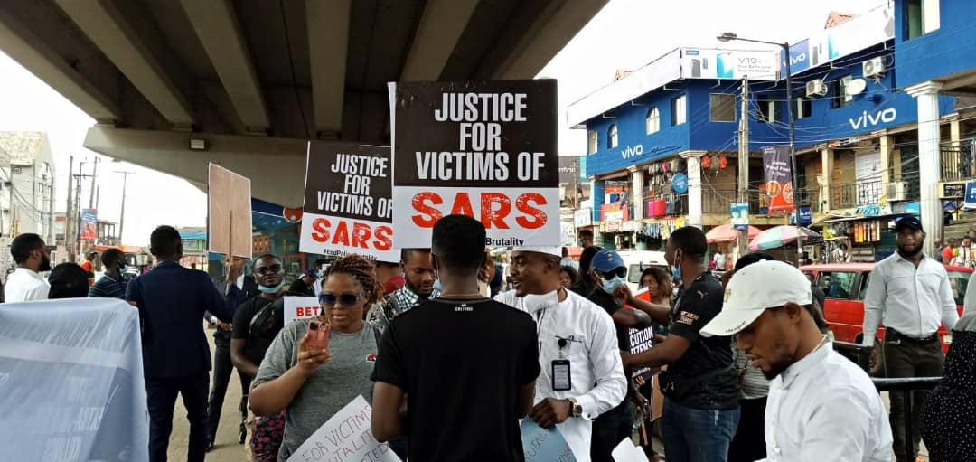 SUV Runs Into Lagos #ENDSARS Protesters, Two Killed and Others Injured
