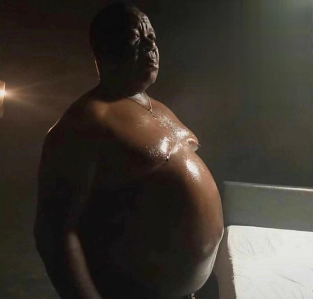 """This looks so Unhealthy"" - Mr Ibu Scares Fans with his Huge Potbelly"
