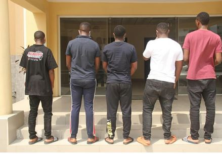 Three Dubai-Based Suspected Internet Fraudsters And 14 Others Were Apprehended By EFCC In Lagos