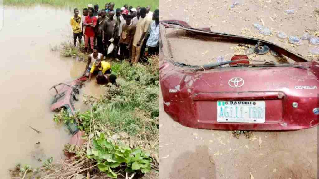 Three persons drown as vehicle plunge into Bauchi river