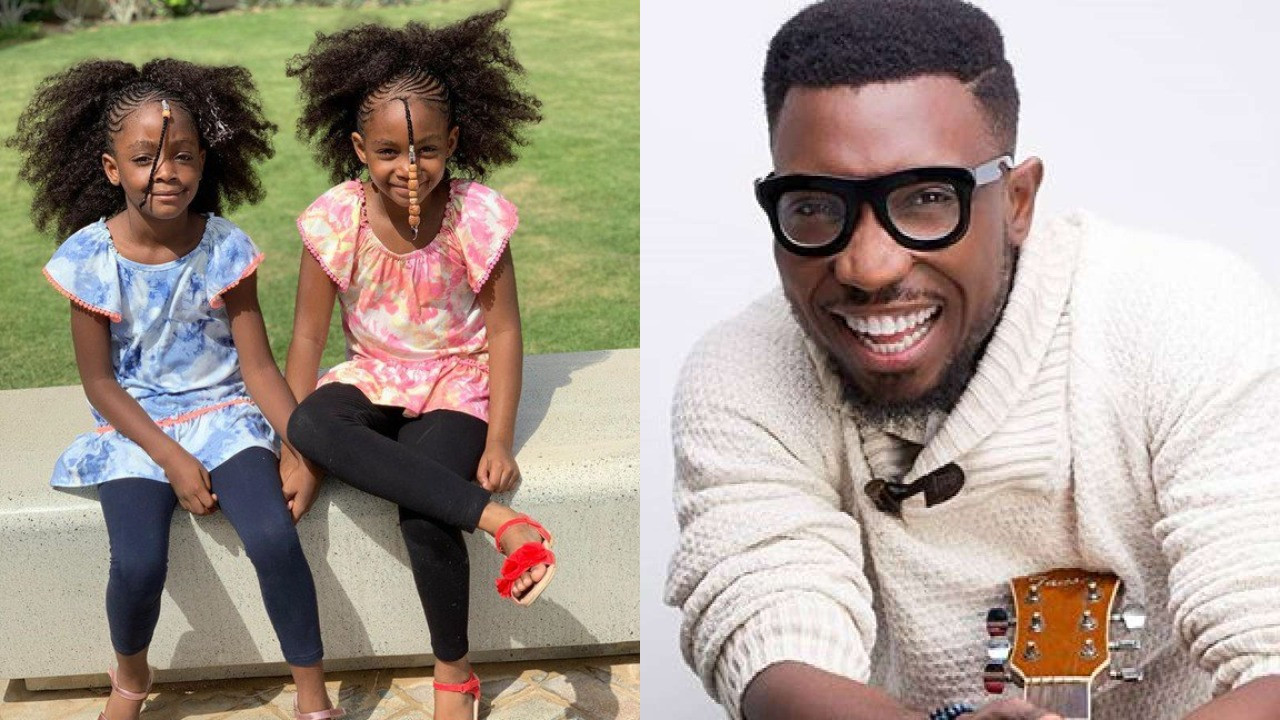 Timi Dakolo shares heartwarming messages he got from his daughters after he travelled