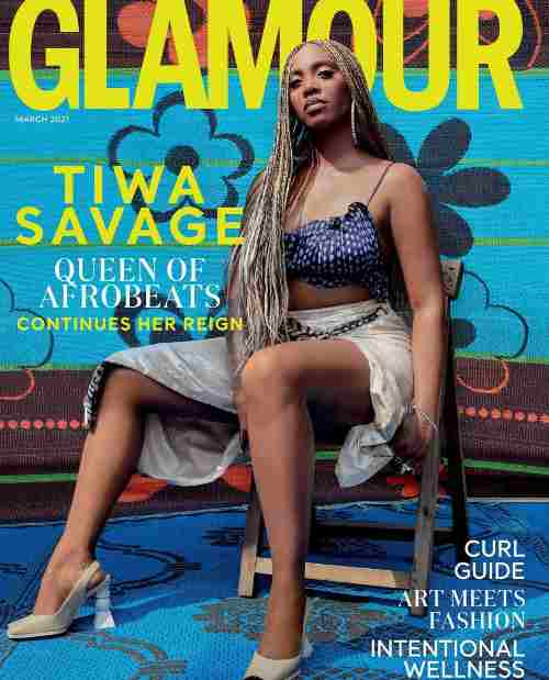 Tiwa Savage Is The Cover Girl For Glamour's March Issue