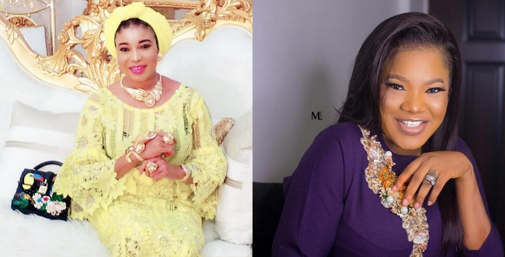 'Toyin Is a Big Fat Liar' - Liz Anjorin reacts to Toyin Abraham's Childbirth Video