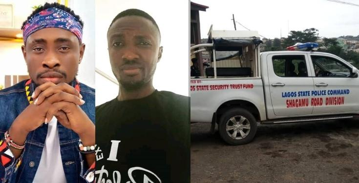 Trickytee's friend Dies in road Accident while allegedly being Chased by Lagos Policemen