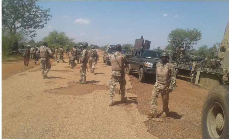 Troops battle as Boko Haram, ISWAP invade Army base in Borno