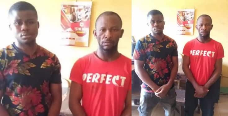Two Men Arrested for Stealing seven Cars at Redemption Camp