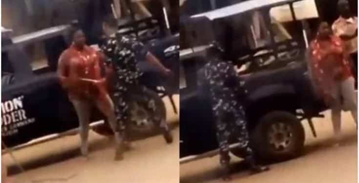 Two Police Officers Dismissed for Beating Woman in Osun State (Watch Video)