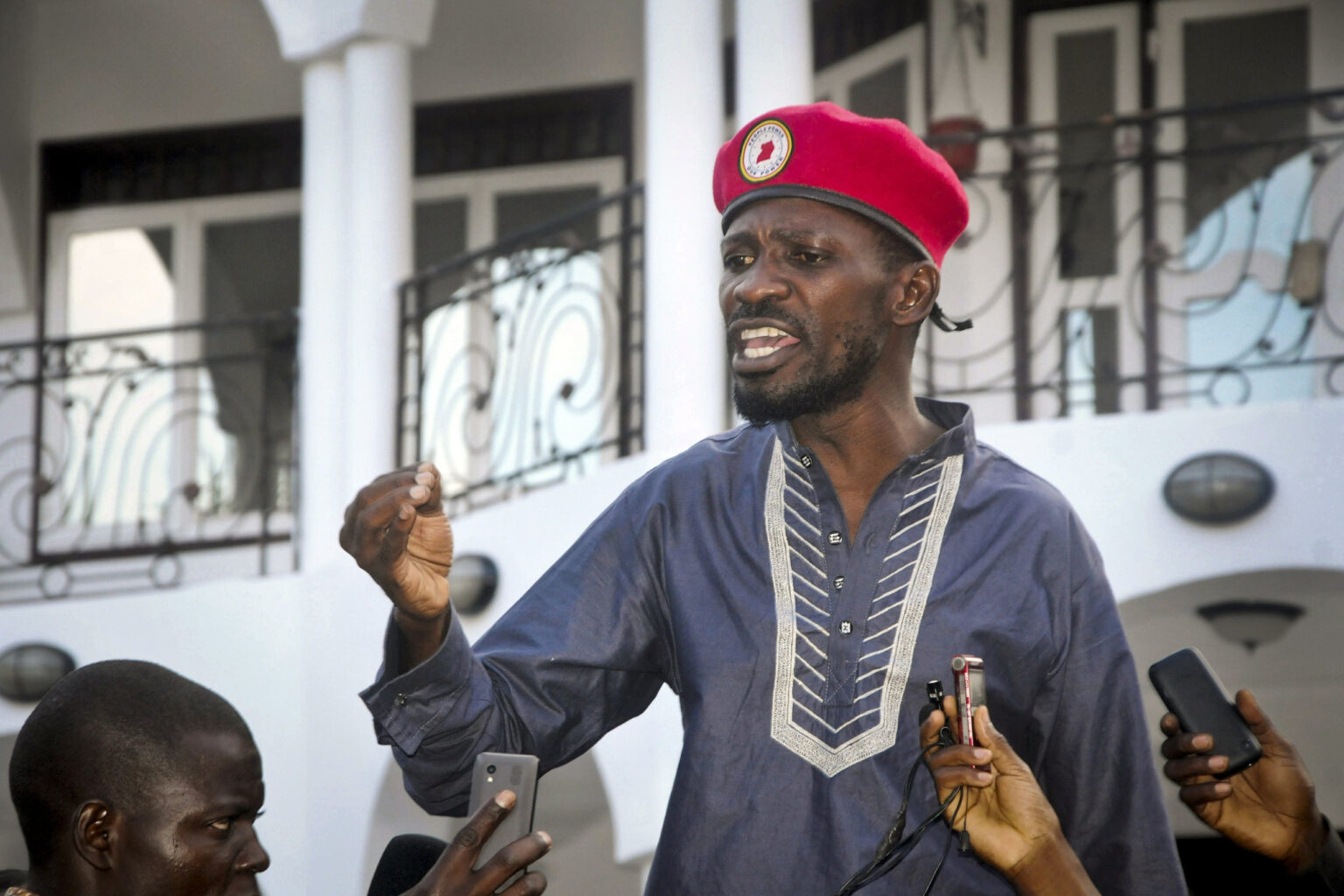 Ugandan Presidential Candidate, Bobi Wine Raises Alarm Over Military Siege at His Home