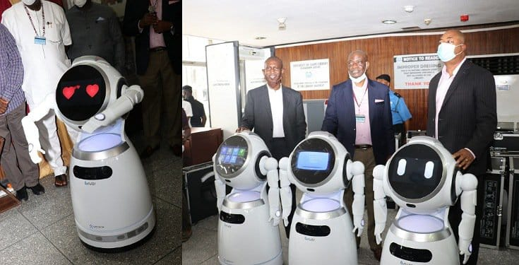 UNILAG Becomes first University in Africa to Acquire profiling Robots (Photos/Video)