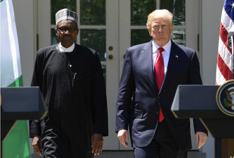 US: Islamic group tells Buhari to place travel ban on Trump