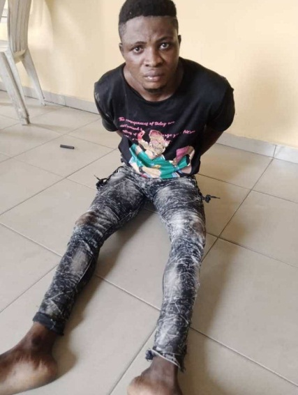 Vigilante Group Nab Member of Armed Robbery Gang That Attacked Worshippers Returning from Crossover Service in Rivers