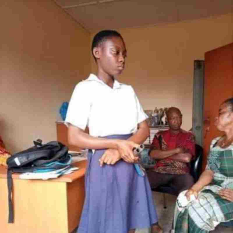 Wahala as Female Student Goes to School with a Local Gun to shoot Teacher (Full Gist)