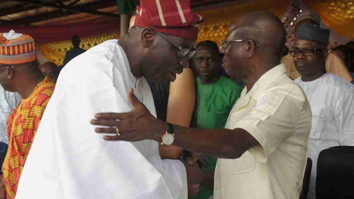 We are brothers, Oshiomhole makes peace with Governor Obaseki