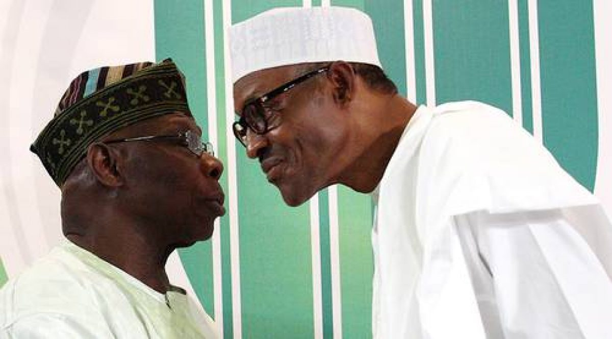 What Obasanjo Said About President Buhari's #EndSARS Speech