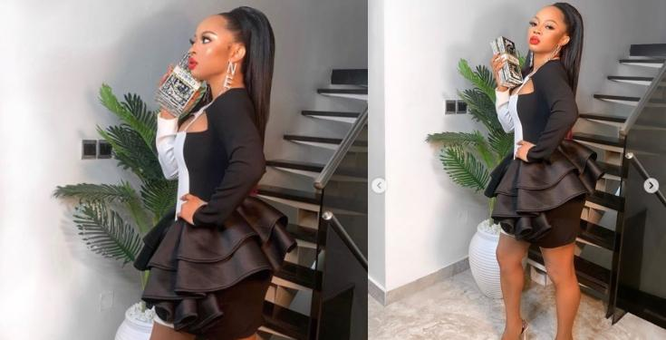 When I'm Sad and Bbored, I like to Spend Money - Toke Makinwa
