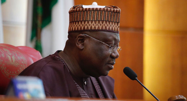 'Why We Can Not End SARS' -Senate President, Ahmad Lawan