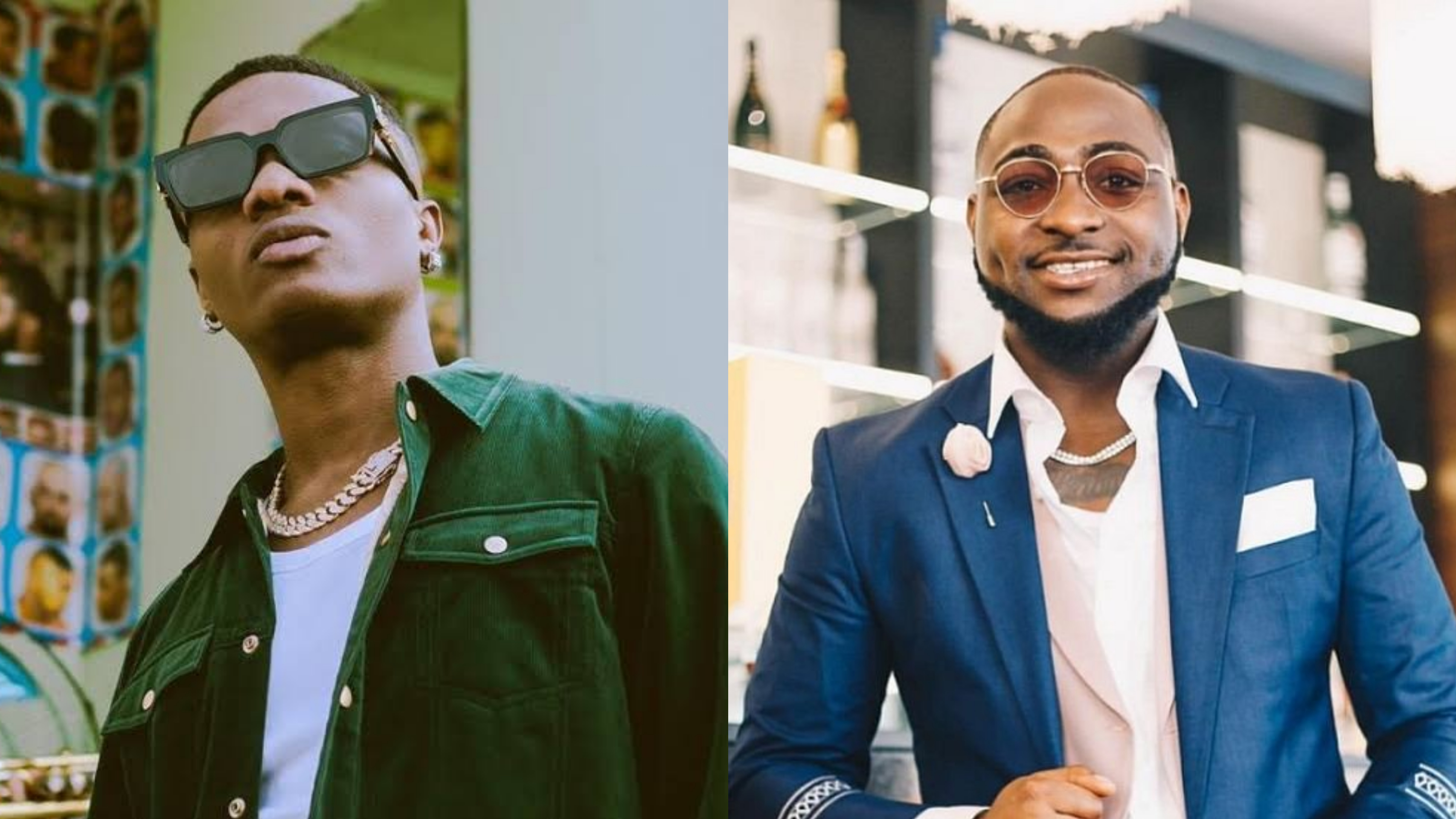 Wizkid and Davido would Collaborate Before Nobember – Nollywood Actor Reveals