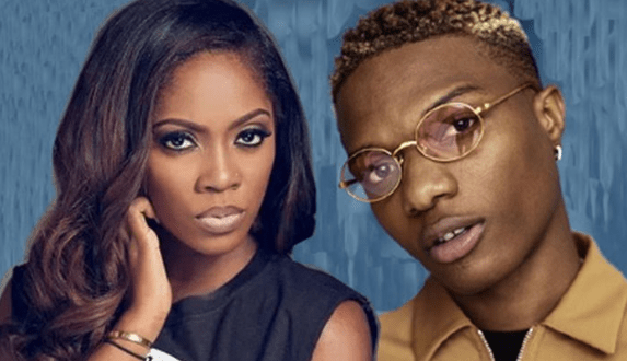 Wizkid Touches And squeezed Tiwa Savage's Bumbum in Dubai (Watch Video)