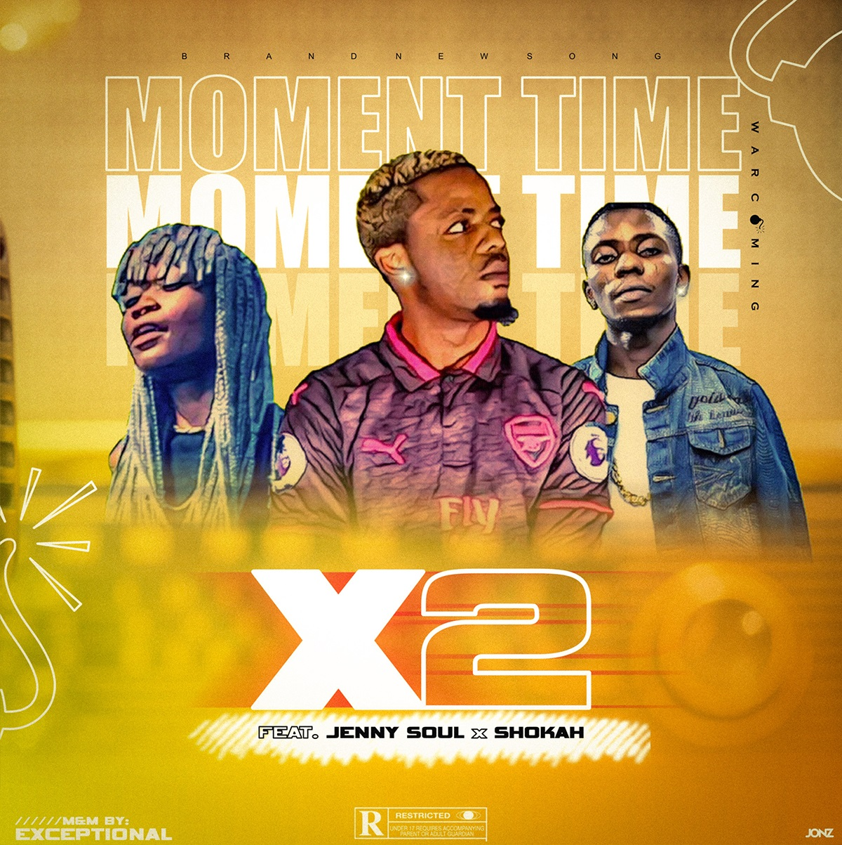 X2 Ft. Jenny Soul & Shokah - Moment Time