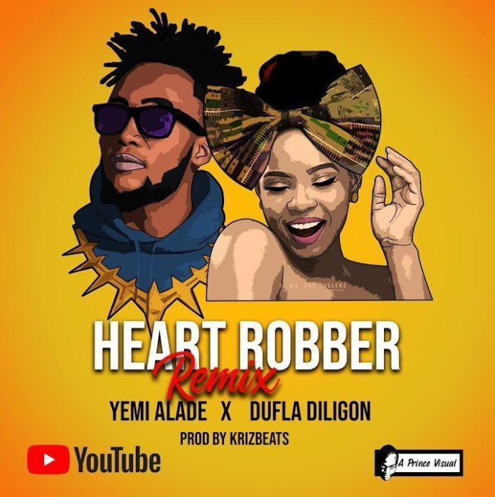 Yemi Alade Ft. Dufla Diligon - Heart Robber (Remix)