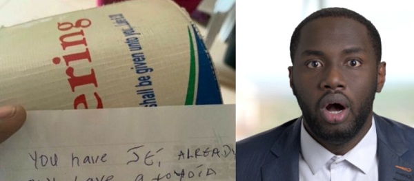 """You Already Have Jet, So I'm Not Giving You Shishi"" – Note Found Inside Church Offering Box"