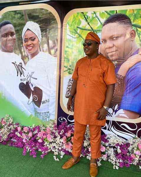 """You are my hero"" - Comic actor, Baba Tee hails Funke Akindele for relentless support to his career"