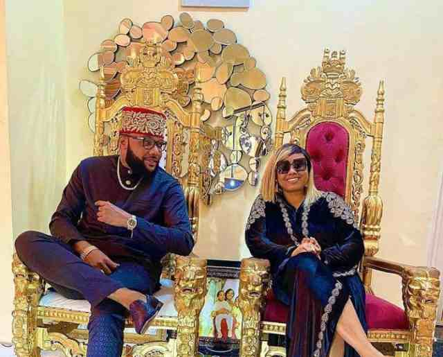 """You rock my world"" - Billionaire, E-Money's wife, Juliet celebrates him on his 40th birthday"
