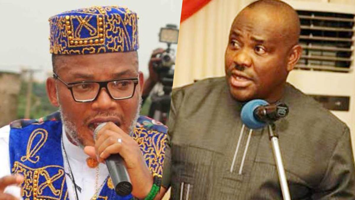 You're A 'Little Hitler', Nnamdi Kanu Bombs Wike, Tells Rivers LG Chairmen What To Do