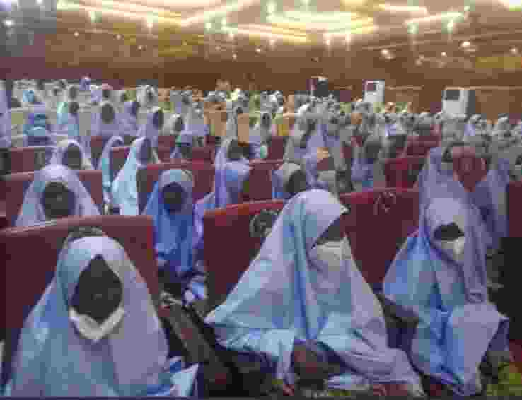 Zamfara schoolgirls released, Arrive Government House