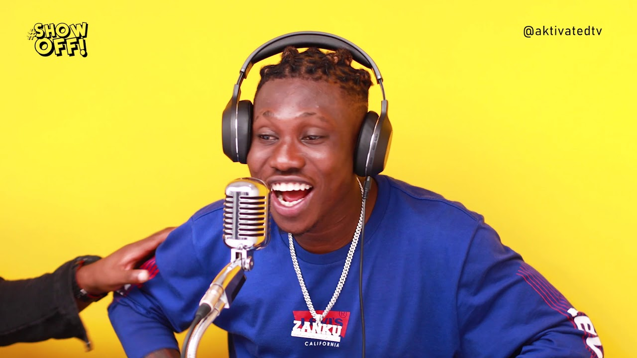 Zlatan Drops a Fire Freestyle on Show Off at Aktivated Studio