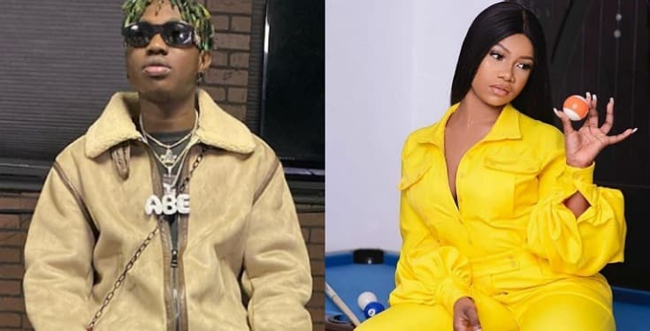 "Zlatan Ibile says ""I Love Tacha"" as reveals his Love For Tacha"