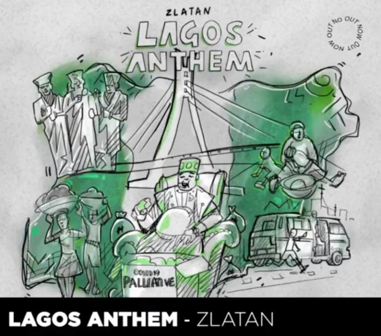 Zlatan - Lagos Anthem (Lyrics)